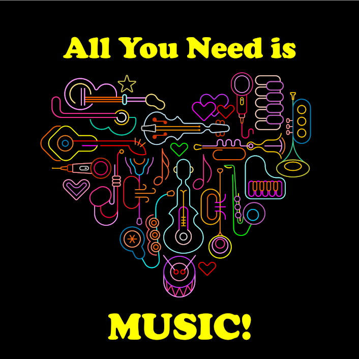 All you need is Music Concert on September 18th 2021